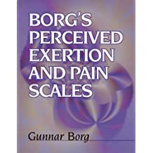 Borg's Perceived Exertion and Pain Scales