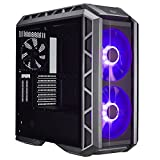 Cooler Master MasterCase H500P ATX Mid-Tower Case with Two 200mm RGB Fans In