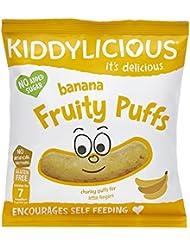 Kiddylicious Banana Fruity Puffs, 10 g