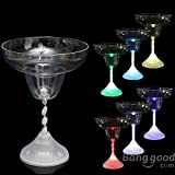 [Envio GRATIS] LED colorido Copa de Vino Luz Intermitente Copa cáliz Cocktail Para Bar // LED Colorful Wine Glass Cup Light Flashing Cocktail Goblet For Bar