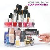Mamzelle Ô Ti aimerais avoir tous tes produits cosmétiques en ordre et toujours à portée de main? Maintenant ¨ possible grâce à l & # x20ac; Organiseur pour maquillage Glam Organiseur de la gamme de produits Home Nail Saloon. Ce. . .