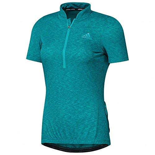 adidas Response SS Jersey Women shock green Größe S 2016 Trikot kurzärmlig