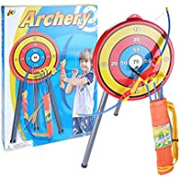 Giplar Flecha y Arco Niños Tiro con Arco Juegos con 3 Flechas de Tiro para niños