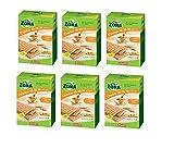 ENERZONA - CRACKER 40-30-30 RICETTA MEDITERRANEA - 6 CONFEZIONI DA 7 MINIPACK DA 25 g. Cracker al farro, ricchi in fibre e proteine, con olio extravergine di oliva. 1 minipack = 1 blocco