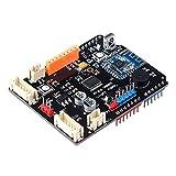 Emakefun tb6612fng Motor Driver Shield Board Bluetooth 4.0, MPU6050Schnittstelle, Encoder abbremsung PWM DC Servo, Motor Interfaces Arduino UNO R3Starter Robotic Auto Kit für Smart Auto
