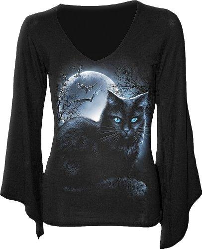 Spiral - Mystical Moonlight (T-Shirt Manica Lunga Donna XL)