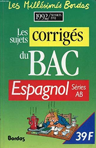 C6 COR.BAC92 ESPAGNOL