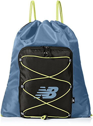 New Balance Adult Media Cinch Sack, Riptide, One Size