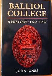 Balliol College: A History, 1263-1939