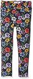 boboli 414166, Pantalones para Niñas, Multicolor (Estampado Flores), 140 (Tamaño del Fabricante:140cm)
