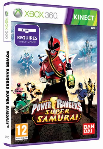 Power Rangers Super Samurai (Kinect) - [Xbox 360]