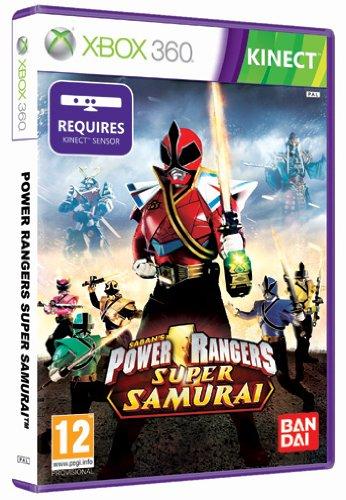 power rangers samurai, kinect