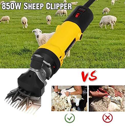 TQ 850 Watt Eu-stecker Elektrische Schafe Haustier Haarschneidemaschine Scher Kit Scher Wolle Geschnitten Ziege Haustier Tier Scherzubehör Bauernhof Schneidemaschine -