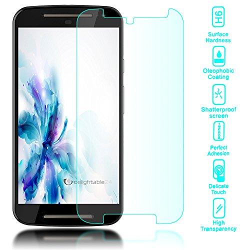 delightable24 Pellicola Protettiva Vetro Temprato Glass Screen Protector Smartphone MOTOROLA