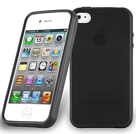 Cadorabo - Etui Housse Gel (silicone) pour Apple iPhone 4