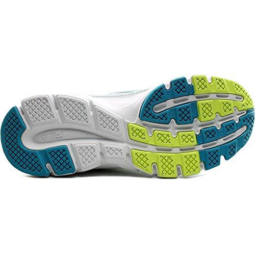 Fila Vorwärts 2 Laufschuh White/Atomic Blue/Safety Yellow