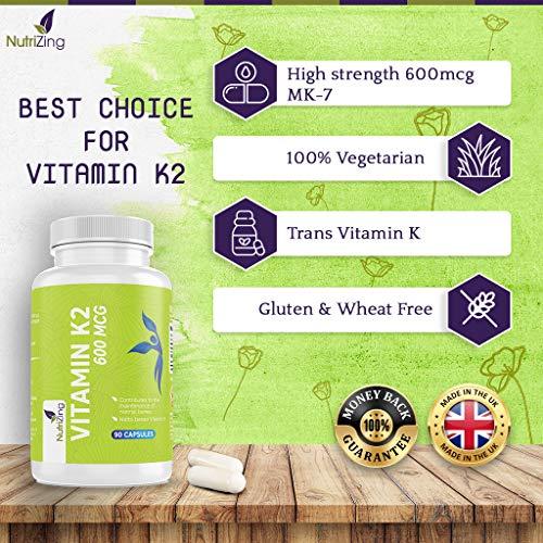 Zoom IMG-2 vitamina k2 mk7 600mcg alta