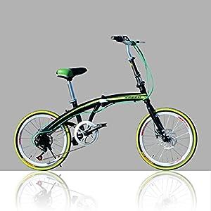 51ncsOU5LdL. SS300 YEARLY Adulti Bici Pieghevole, Bici Pieghevoli Studente U8 Uomini E Donne Bicicletta Pieghevole