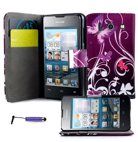 magic-global-gadgetsr-purple-butterfly-printed-pu-leather-book-wallet-magnetic-flip-case-for-huawei-