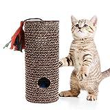 Cilindro de cartón Corrugado con Forma de Gato para arañar
