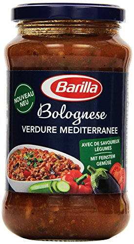 Barilla Pastasauce Bolognese Verdure Mediterranee, 400 g