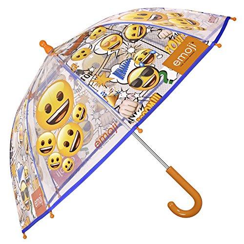 Paraguas Transparente Emoji Niño Niña   Paraguas