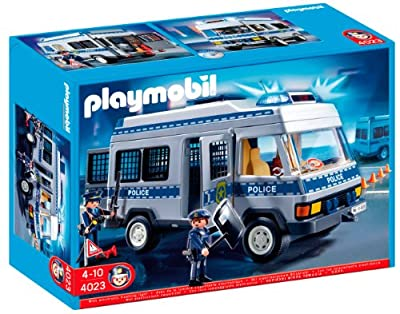 Playmobil Furgón De Policía (626563)