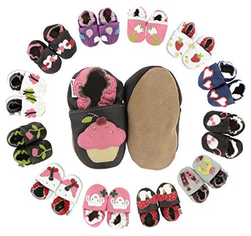 The Sales Partnership Princess, Chaussures de Naissance Mixte Bébé Champignons