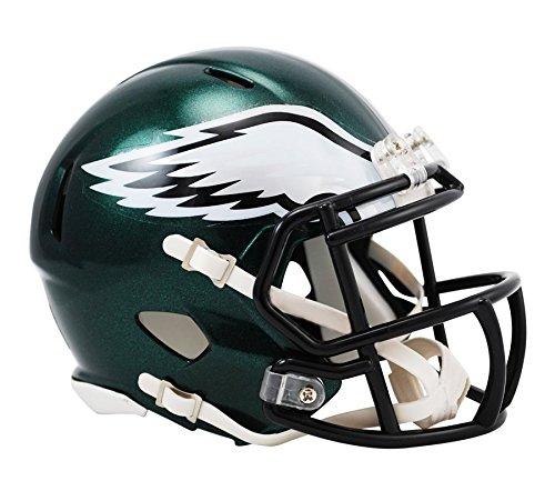 NFL Riddell Football Speed Mini Helm Philadelphia Eagles (Nfl Football Helm)