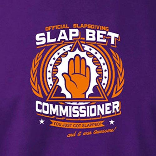 TEXLAB - HIMYM: Official Slap Bet Commissioner - Langarm T-Shirt Schwarz