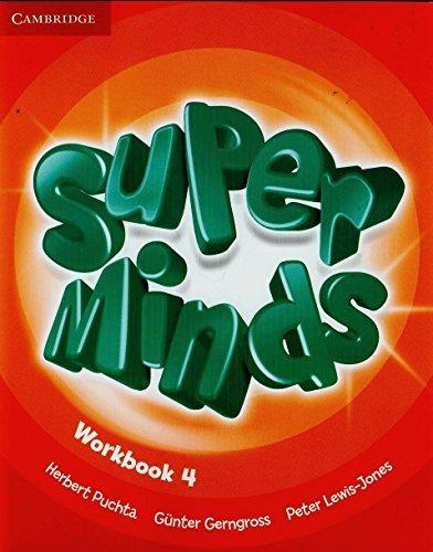 Super Minds Level 4 Workbook by Herbert Puchta (2013-03-31)