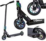 Chilli Pro Scooter Reaper Stunt-Scooter 110mm (LTD Fantic26 Edition Schwarz / Rainbow)