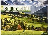 Südtirol ReiseLust 2019, Wandkalender im Querformat (45x33 cm) - Reisekalender Italien, Dolomiten mit Monatskalendarium