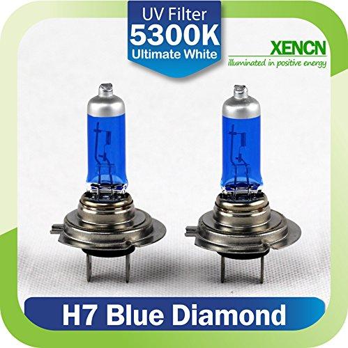 Preisvergleich Produktbild H7 BIRNE LAMPEN XENCN BLUE DIAMOND 12V 65W PX26d LOOK EFFEKT OPTIK (2 Stück)