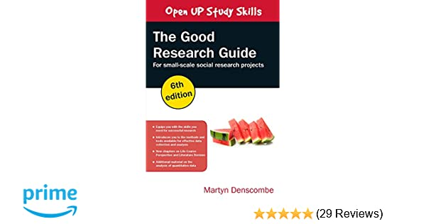 the good research guide 6th edition amazon co uk denscombe rh amazon co uk good research guide 2010 good research guidelines