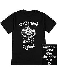 Motörhead T-Shirt England Skull Logo Size XXL