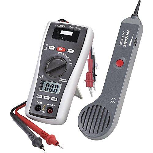 Leitungssucher VOLTCRAFT LSG-4 Induktive Spannung Detektor