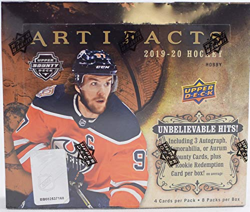 Upper Deck 2019/20 Artifacts Hockey Hobby Box NHL