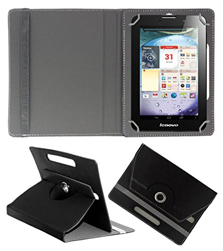 Acm Rotating 360° Leather Flip Case For Lenovo Ideapad A3000 Tablet Cover Stand Black  available at amazon for Rs.149