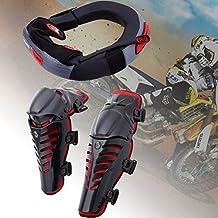 ridgeyard Racing motocicleta Motocross rodilleras Protector adulto Body Guards Protección Shin Pads