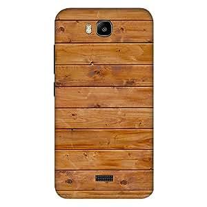 Bhishoom Designer Printed Back Case Cover for Huawei Honor Bee :: Huawei Honor Bee Y5c (Wooden :: Wood :: Rugged :: Stripes :: Texture)