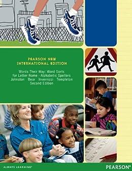 Words Their Way: Pearson New International Edition: Word Sorts for Letter Name - Alphabetic Spellers par [Johnston, Francine R., Bear, Donald R., Invernizzi, Marcia R., Templeton, Shane]