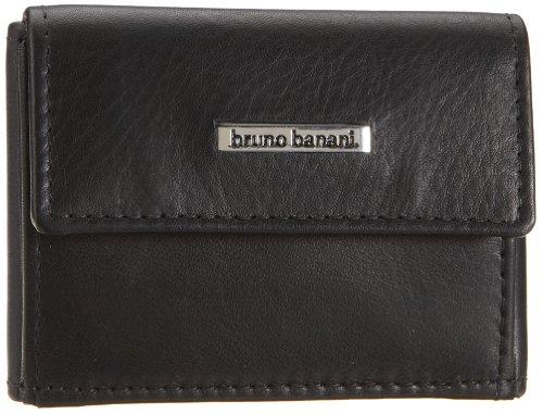 Bruno Banani Newport_5 W 320_899, Herren Portemonnaies 9x6x2 cm (B x H x T) Schwarz (Schwarz)