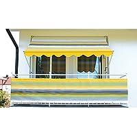 Angerer Klemmmarkise Nr. 500 Gelb 300 cm, 2302/500