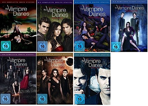 The Vampire Diaries - Season / Staffel 1+2+3+4+5+6+7 ( 1-7 ) * DVD Set / Alle 7 Staffeln - Vampire Diaries-staffel Vier