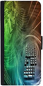 Snoogg Abstract Internet Background With Colorsdesigner Protective Flip Case ...