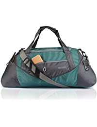 Novex Polyester 35 Ltr Blue-Grey Soft Sided Travel Duffle