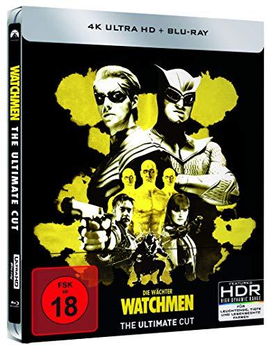 Watchmen - Ultimate Cut - 4K UHD!!! - Steelbook [Blu-ray]