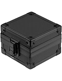 INFANTRY Black Organizer Single Grid Watch Box for Men Display Travel Case Storage Holder Gift Boxes