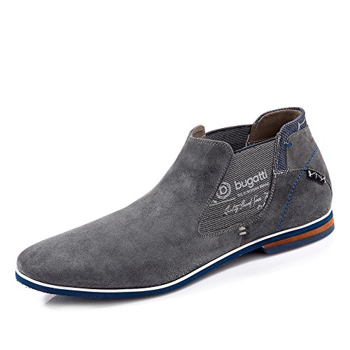 Bugatti Herren Schnürer Grau